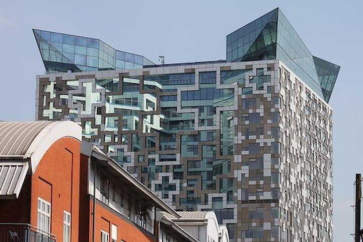 Studio apartment at The Cube - Birmingham - Apartamento