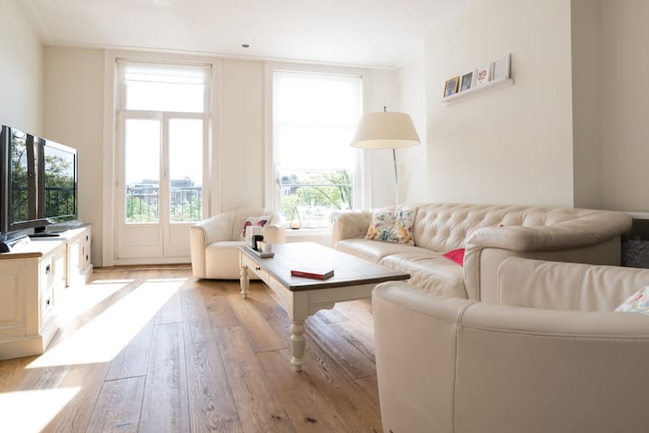 Cozy room in penthouse at gracht - Amsterdam - Apartemen