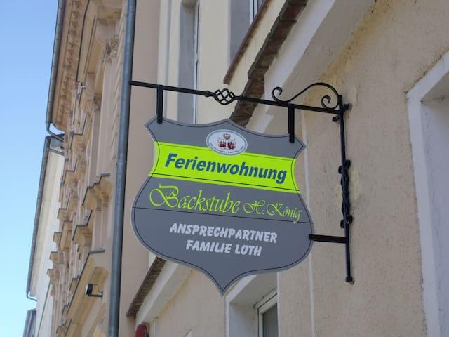 """Ferienwohnung """"Alte Backstube"""" in Innenstadt - Brandenburg an der Havel - Appartement"""