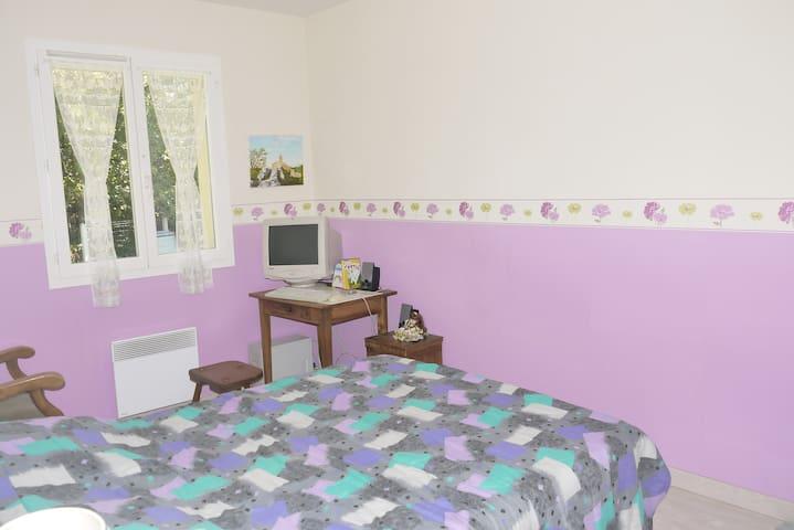 une ou deux chambres en Médoc - Saint-Laurent-Médoc - Haus