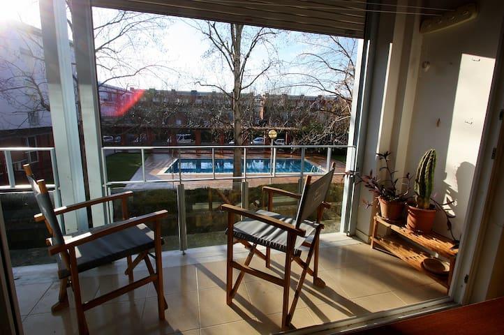 Junto al lago, Confortable, Luminoso, Tranquilo - Banyoles - 公寓