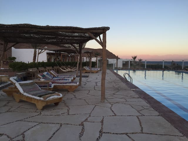 Apartment with pool, Dahab Canyon! - ダハブ - 一軒家