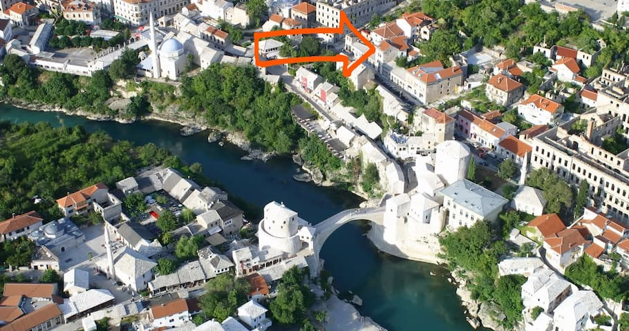 Authentic art experience - Mostar - Bed & Breakfast
