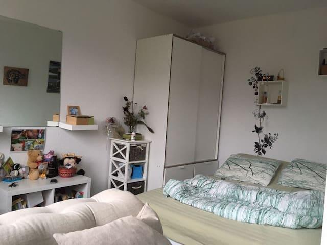 Gemütliche 1Z-Wohnung in der nähe von ParadiesPark - Jena - Leilighet