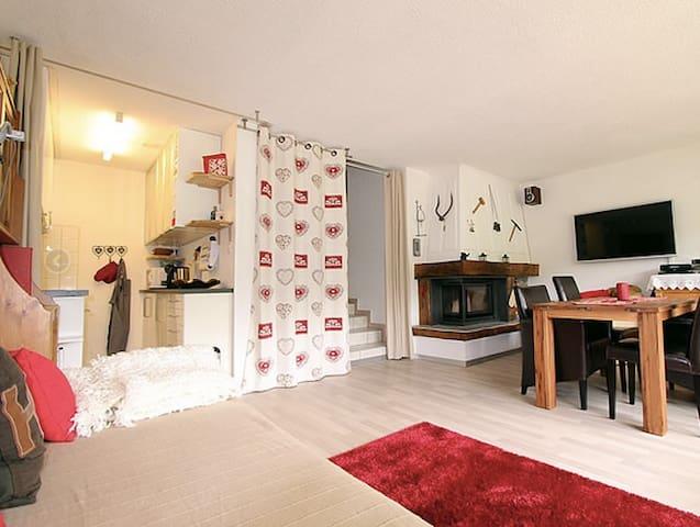sonniges Appartement in Les Crosets Südseite - Les Crosets - Departamento