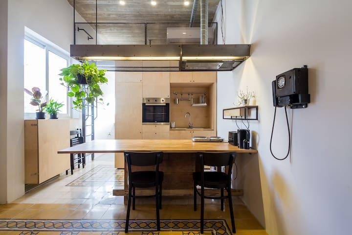Quirky unique studio-apartment - Il-Gżira - Departamento
