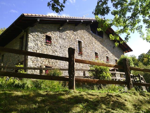 Caserío  Siglo XVI en entorno rural - Errezil - Hus