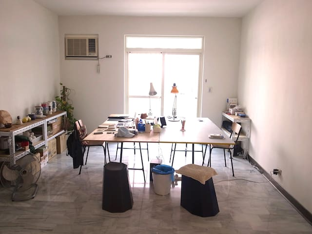 Cosy room in artists' studio Taipei - Beitou District - Wohnung