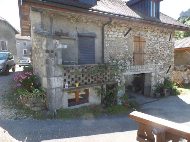 Belle maison entre  Genève et Annecy - Chaumont - Apartamento