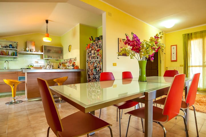 10 Reasons This Italian Apt is Your Perfect Base ! - Cervaro - Appartement