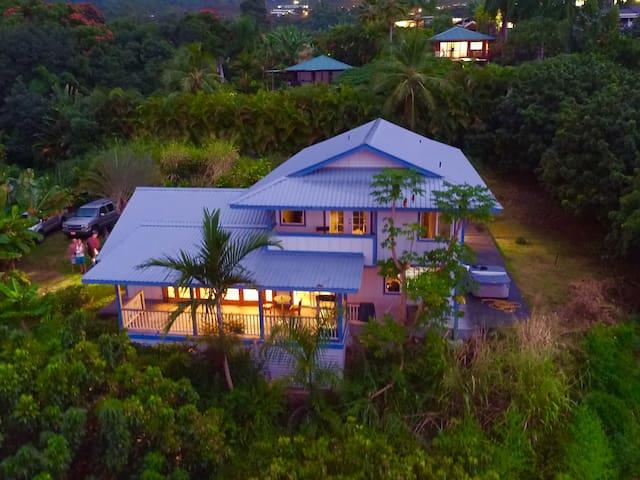Charming Farmhouse in Hawaii- Lilikoi Room - Kealakekua