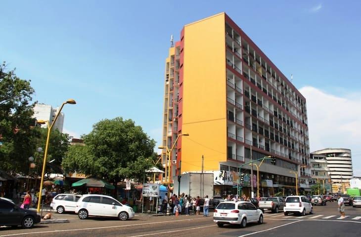Flat- Centro Manaus (Cond. Ajuricaba 07) - Manaus