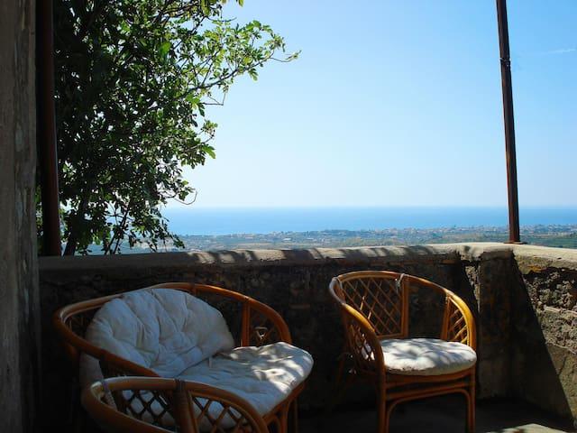 le terrazze sul mare Jonio - Condojanni