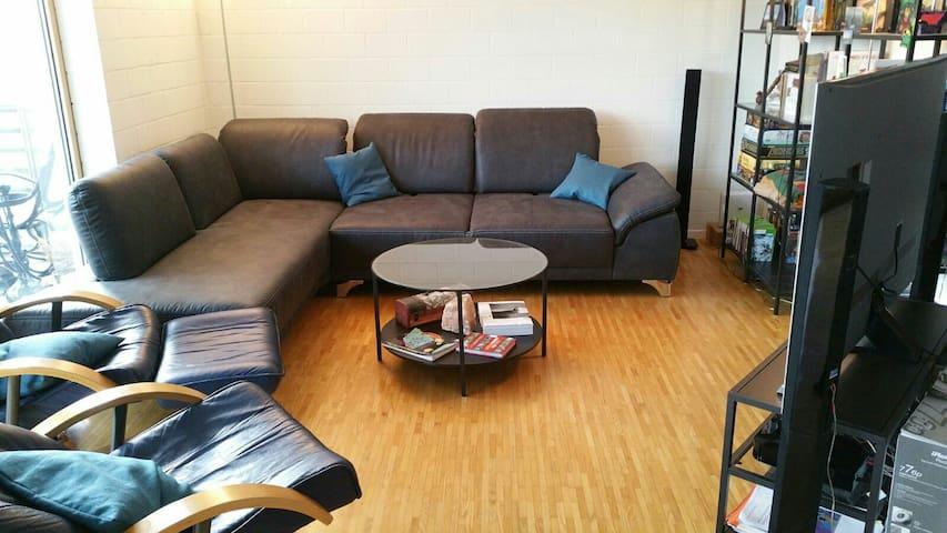 Ein Zimmer im Zentrum der Schweiz - Niederlenz - Apartamento
