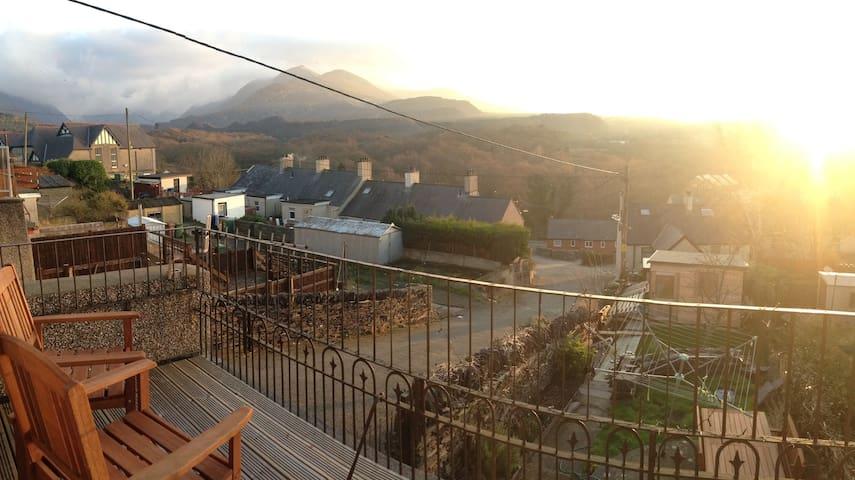 House with balcony and beautiful views. - Bethesda - Casa