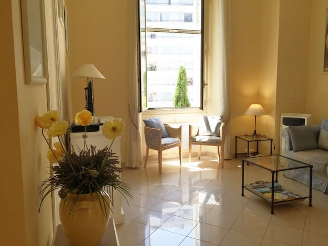 Cannes 2 rooms Luxury 2mn Croisette - Cannes - Departamento