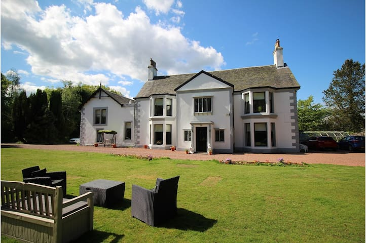 Scottish Country Mansion House - Close to Glasgow - Dullatur - Huis