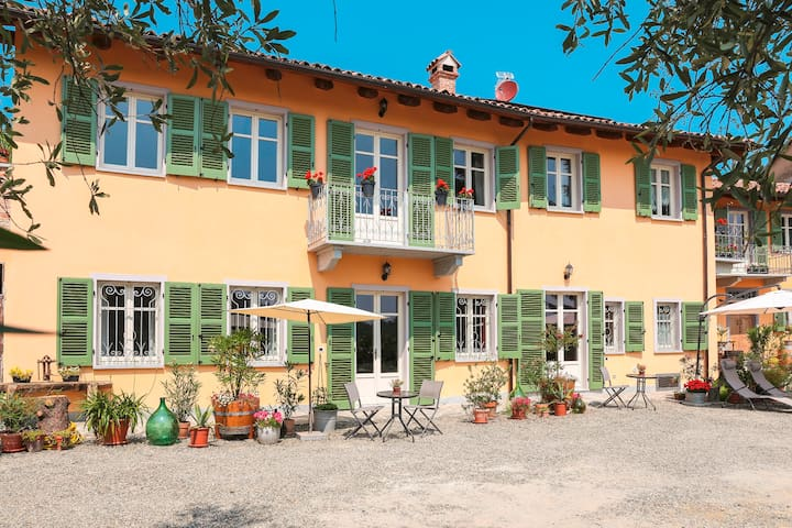 """Apartment """"Cortile"""", 2-4 Pers, barrier-free, 70m² - Agliano Terme - Appartement"""