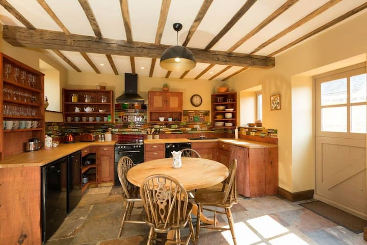 The Granary Cottage @ Bromwich Park Farm, Oswestry - Aston - Casa