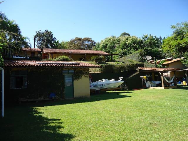 Campo e Represa - Verão e Inverno - Joanopolis SP - Joanópolis - House