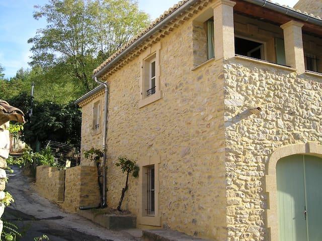 Appartement de caractère du 19ème S - Saint-Victor-la-Coste - Apartamento