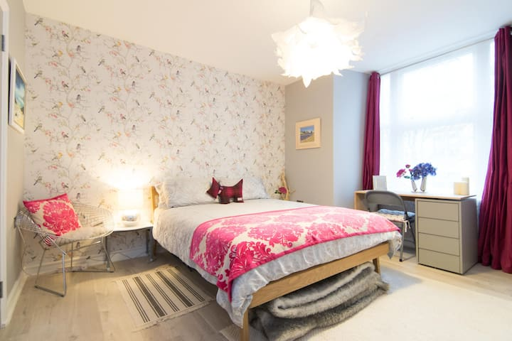 Beautiful Ensuite Double Room near Glasgow Airport - Paisley - Pis
