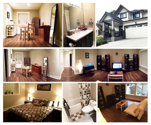 New Cozy Suite Close To Everything - Surrey - Hus