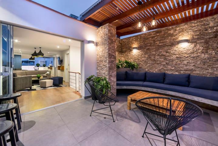 Private Room in Barranco Penthouse - Distrito de Lima - Lägenhet