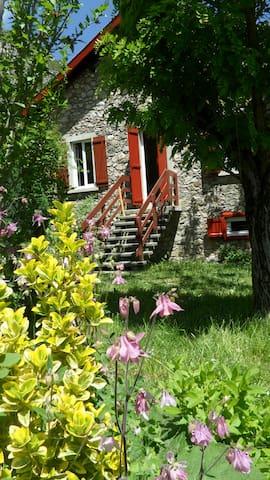 Authentique Maison de montagne en pierre au calme - Alliat - Huis