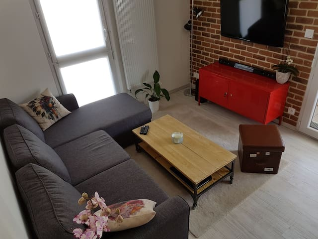 Appartement cosy Ancenis centre - Ancenis - Apartamento