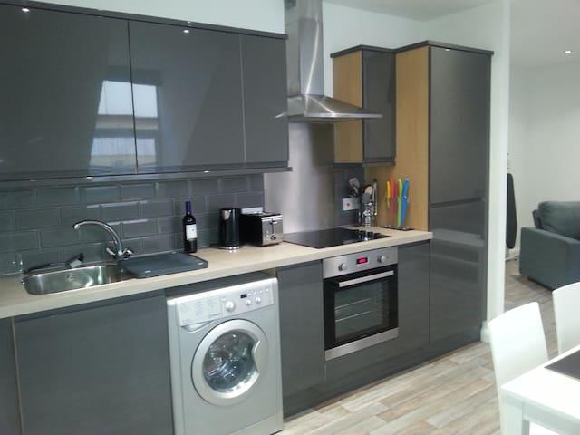 Top Floor 1 Bedroom Town Centre Flat (sleeps 1-4) - 北安普敦(Northampton) - 公寓