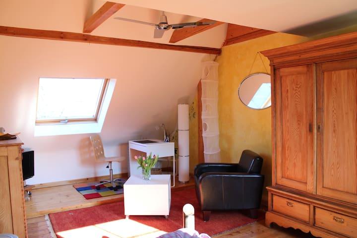 gemütl. Zimmer im Haus von 1893 - Ratingen - Hus