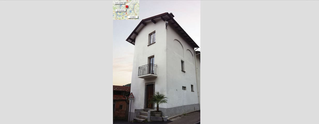 Haus am Monte Brè, Davesco-Soragno - Lugano - Casa