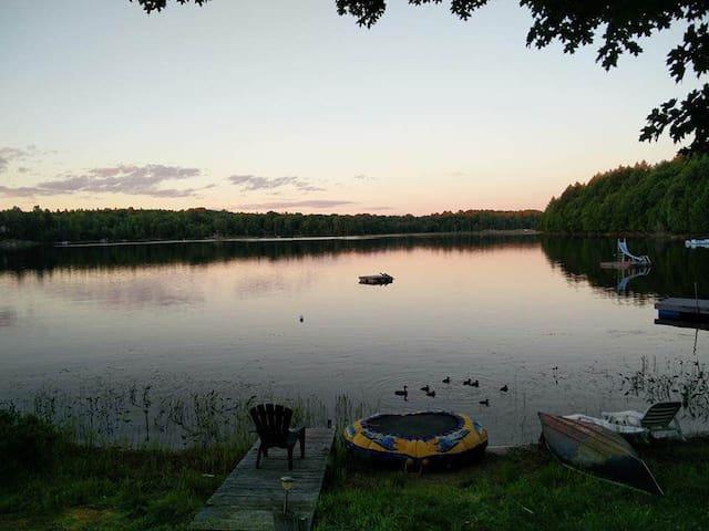 Small lake in the big white north! - Commanda