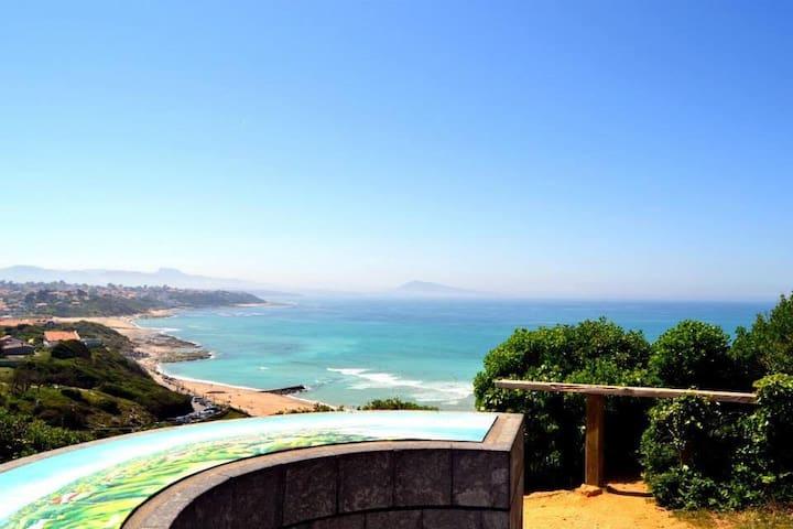 Bidart l'océan au pied de la montagne T3 - Bidart - Condomínio