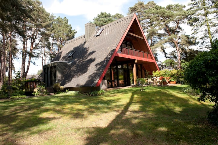 Idyllisches Ferienhaus in Abbensen - Wedemark - Casa