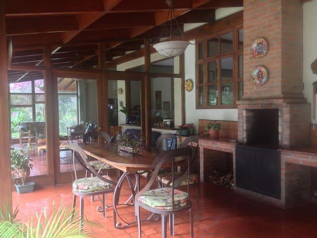 Casa Hacienda Atirro - Turrialba - Huis