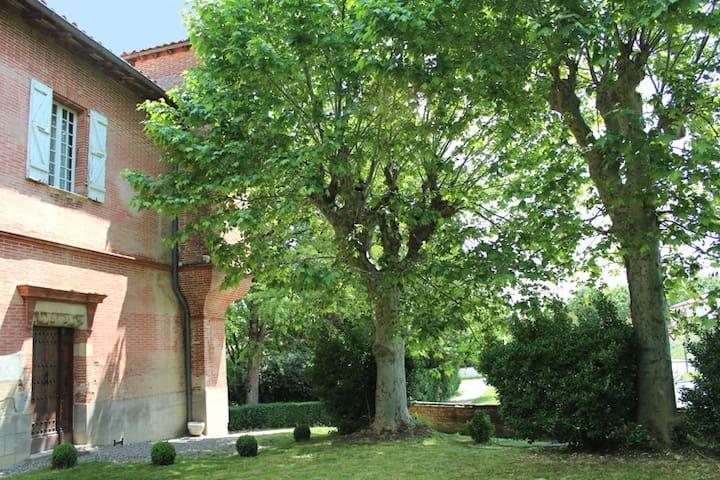 Une chambre dans maison du XVIIème - Sainte-Foy-d'Aigrefeuille - Casa