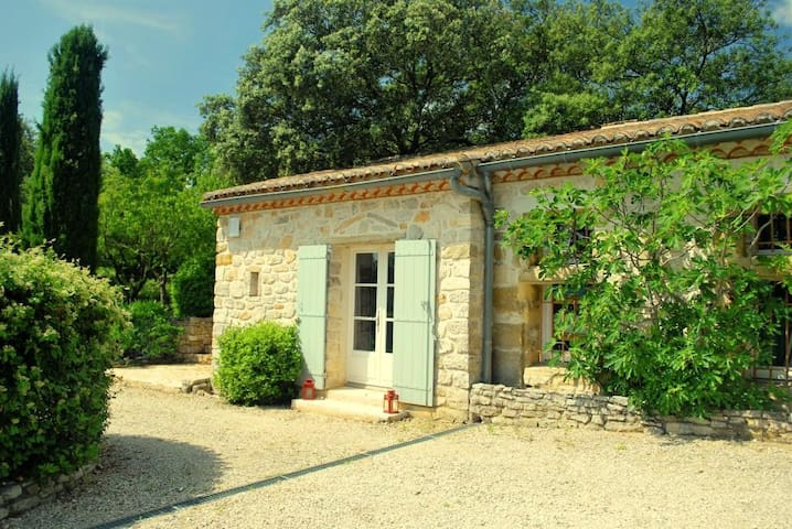 Studio at the Mas de la Coste, 7 km east of Uzès - Aubussargues - Bed & Breakfast
