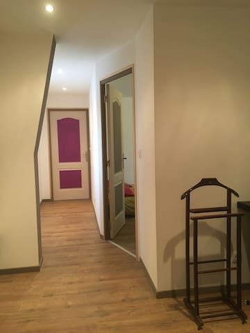Chambre + salle de bain privée - Billy-Montigny - Radhus