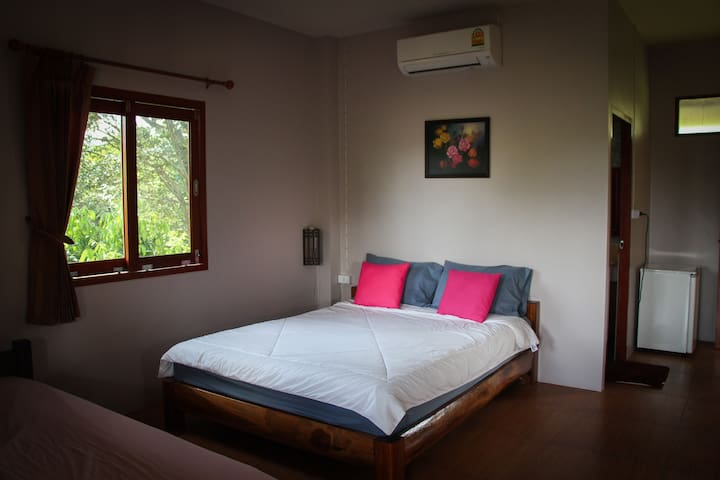 Air Conditioned Room - 2 people - Mae Hong Son - Appartement