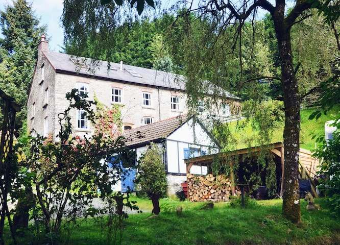 Old Woollen Mill in Beautiful Welsh Countryside - Lampeter - House