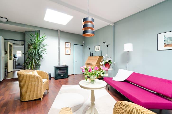Spacious appartment with garden - Hilversum - Apartemen