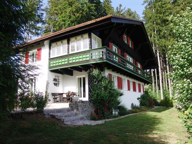 Ferienwohnung – nah am Badesee, mit Bergblick - Lindenberg im Allgäu - Lägenhet