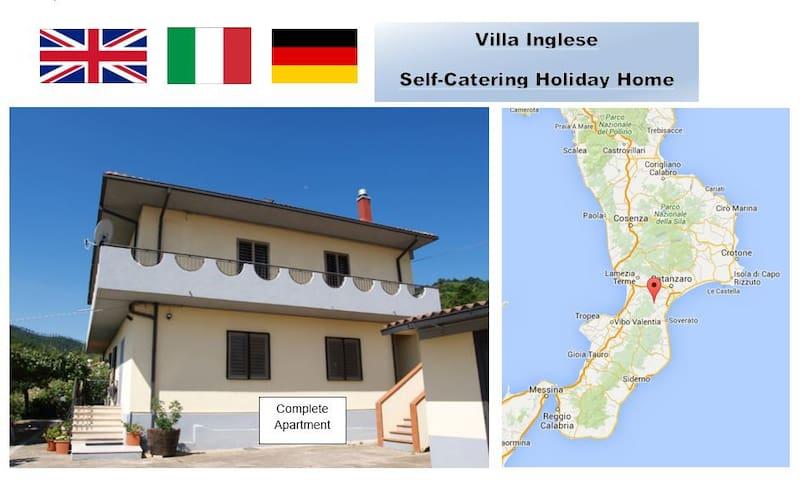 Mountain Location Quiet Retreat plus beaches - San Luca - Leilighet