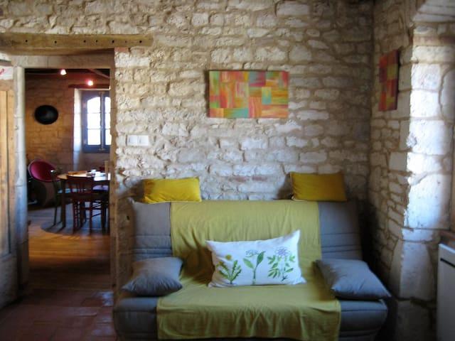 Charmante maison de village à 10 km d'Albi. - Cagnac-les-Mines - Huis