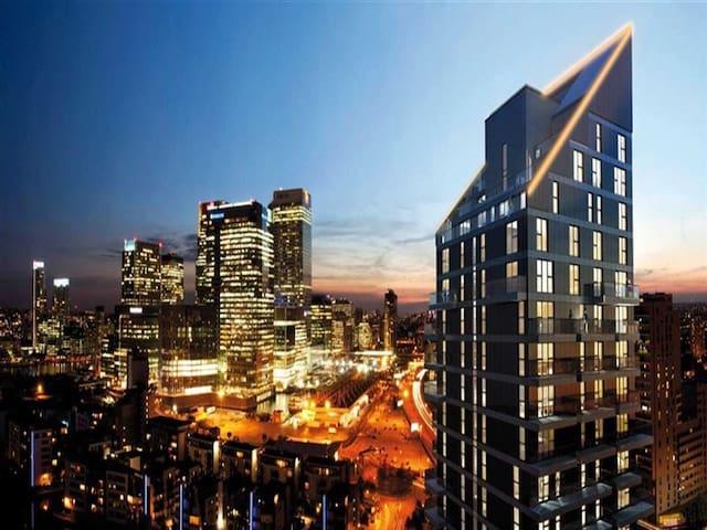 19th Floor En - Suite Balcony Room Free WiFi & TV - London - Apartemen