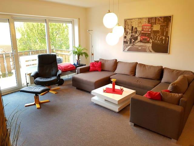 Gemütliche Wohnung am Rande Paderborns -Cosy place - Paderborn - Apartemen