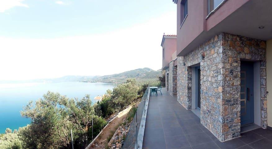 Two storey house with amazing view (Aqua) - Midilli