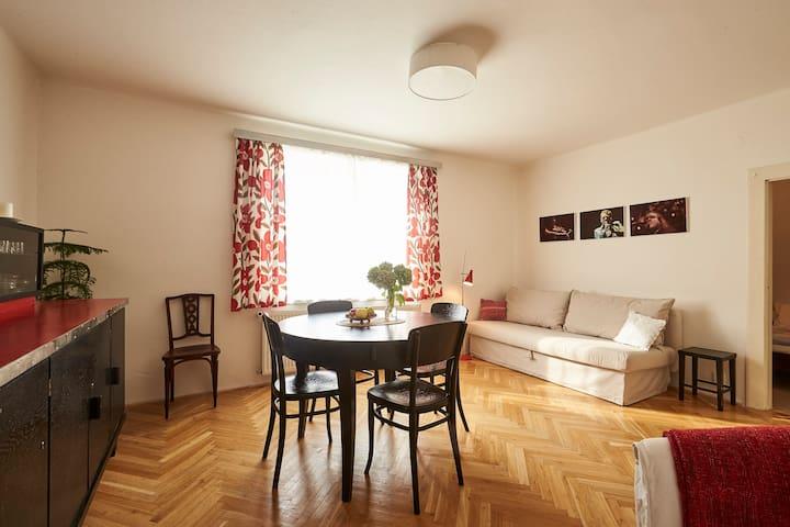 Lovely Apt with Garden & Forest - Liberec - Lägenhet